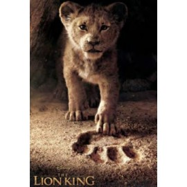 Affiche Poster Plastifié DISNEY LE ROI LION PHOTO