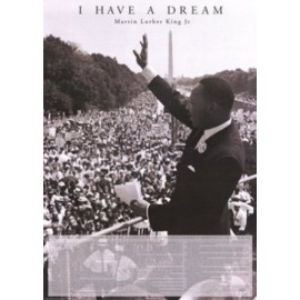 Affiche Poster Plastifié MARTIN LUTHER KING PHOTO Version anglaise