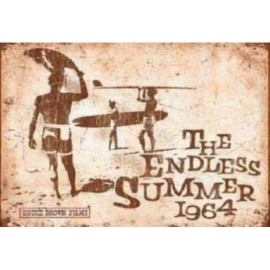 Affiche Poster Plastifié THE ENDLESS SUMMER 1964